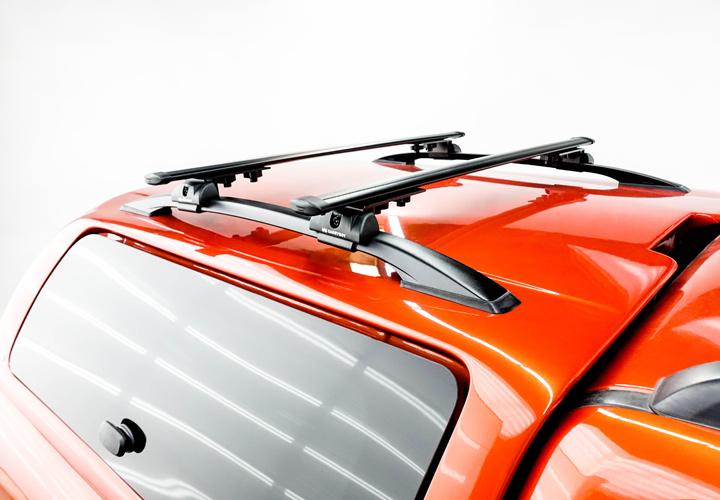 Base Rack and Crossbars for SLR Hardtop