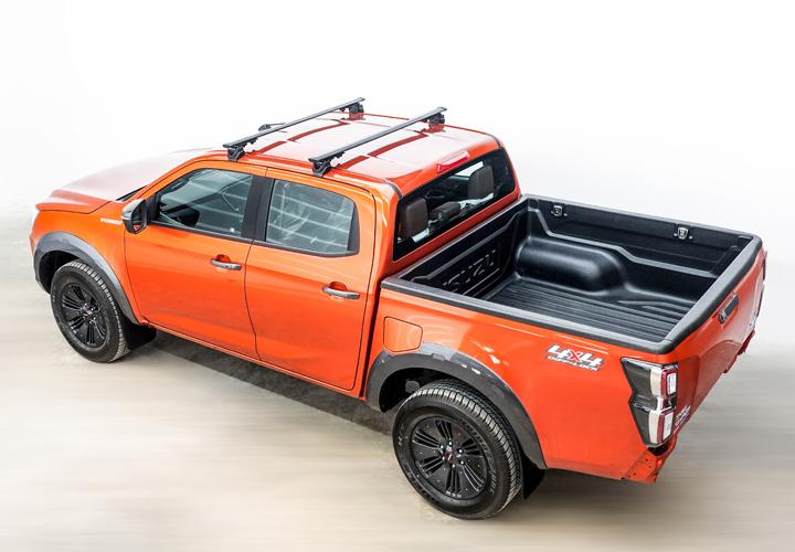 Base Rack Support for Pickup Truck