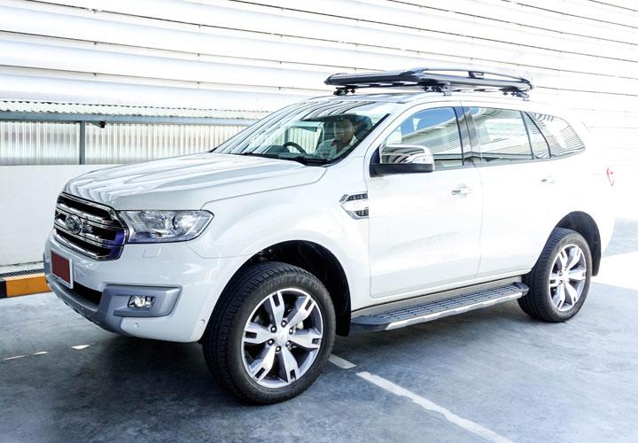 Ford Everest — Roof Rack Set