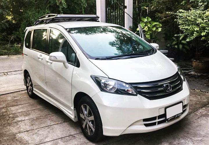 Honda Freed — Roof Rack Set
