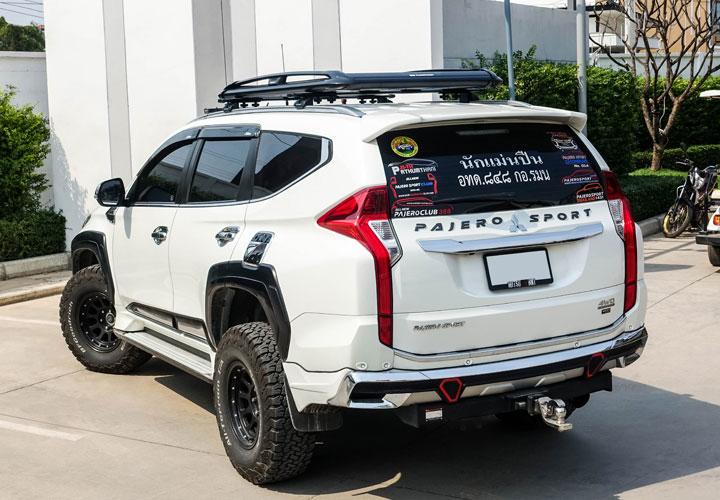 Mitsubishi Pajero Sport — Roof Rack Set